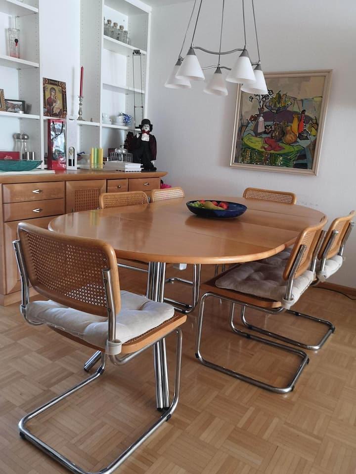 Neubad,  ruhige 2 1/2 Z. Wohnung 1-3 P. Gemütlich.