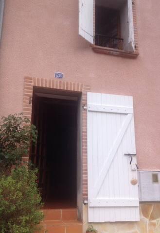 Maison traditionnelle en pierre à Axat