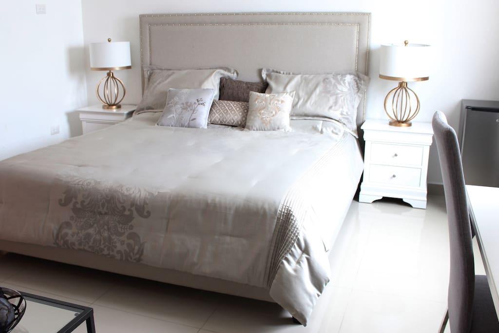 Habitacion privada, cama California King Size