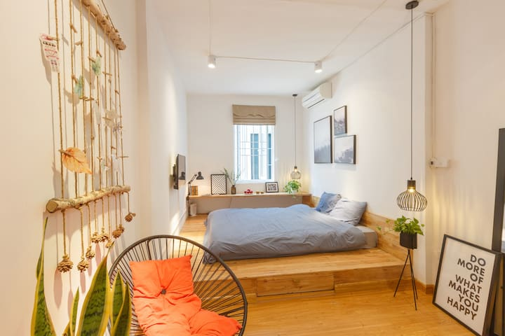 Tropical Nordic house 1-3BR in Hanoi Old quarter