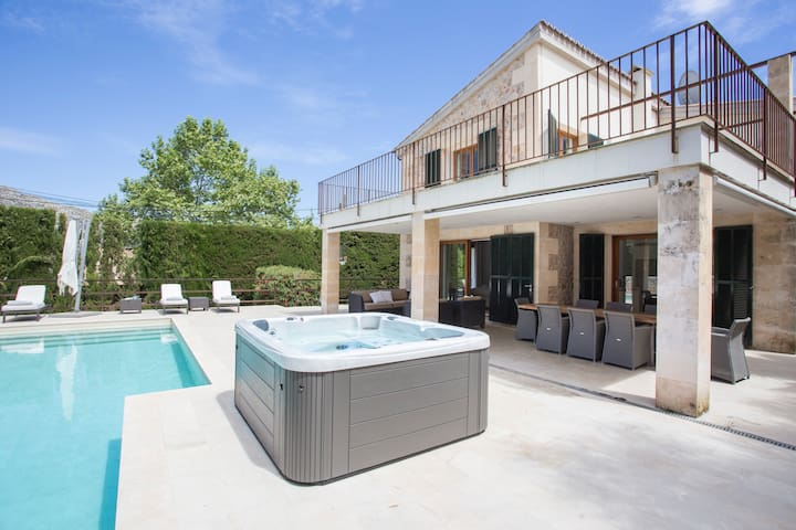 Can Menut Nou - Luxury villa for 8 in Pollença