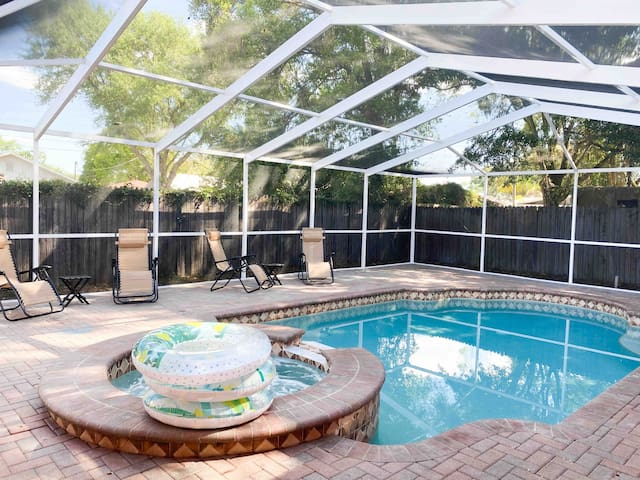 Newly Renovated Home with Heated Salt Water Pool