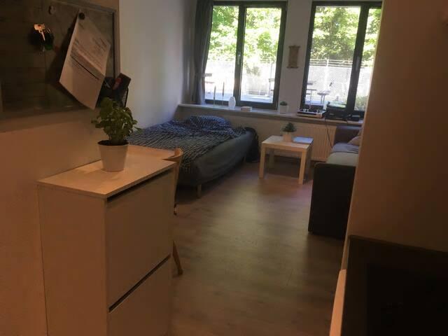 Căn hộ cao cấp 2 phòng ngủ, nội thất cơ bản giá rẻ