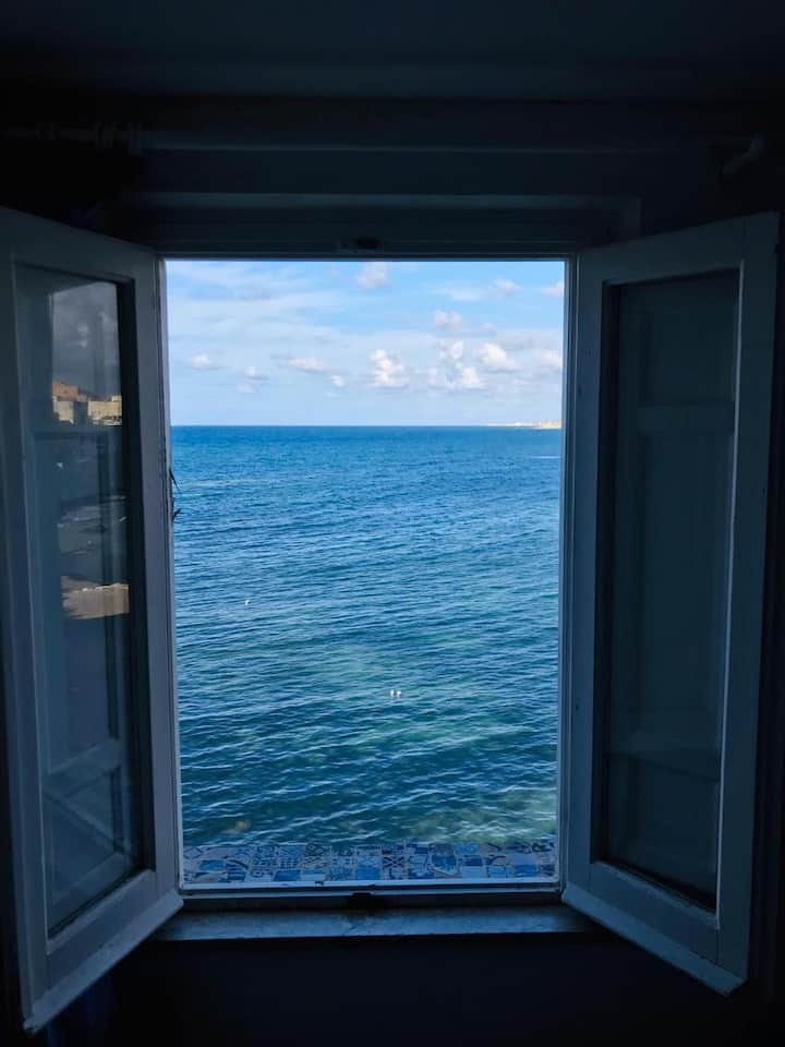 Suite Didone sea view whit terrace.