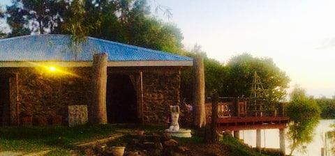 Rose Cottage - Cosy stone cottage Vaal River bank
