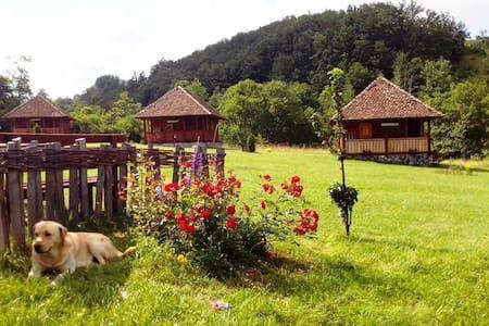 Mountain cottage in etno village - Kosjeric - Alpehytte