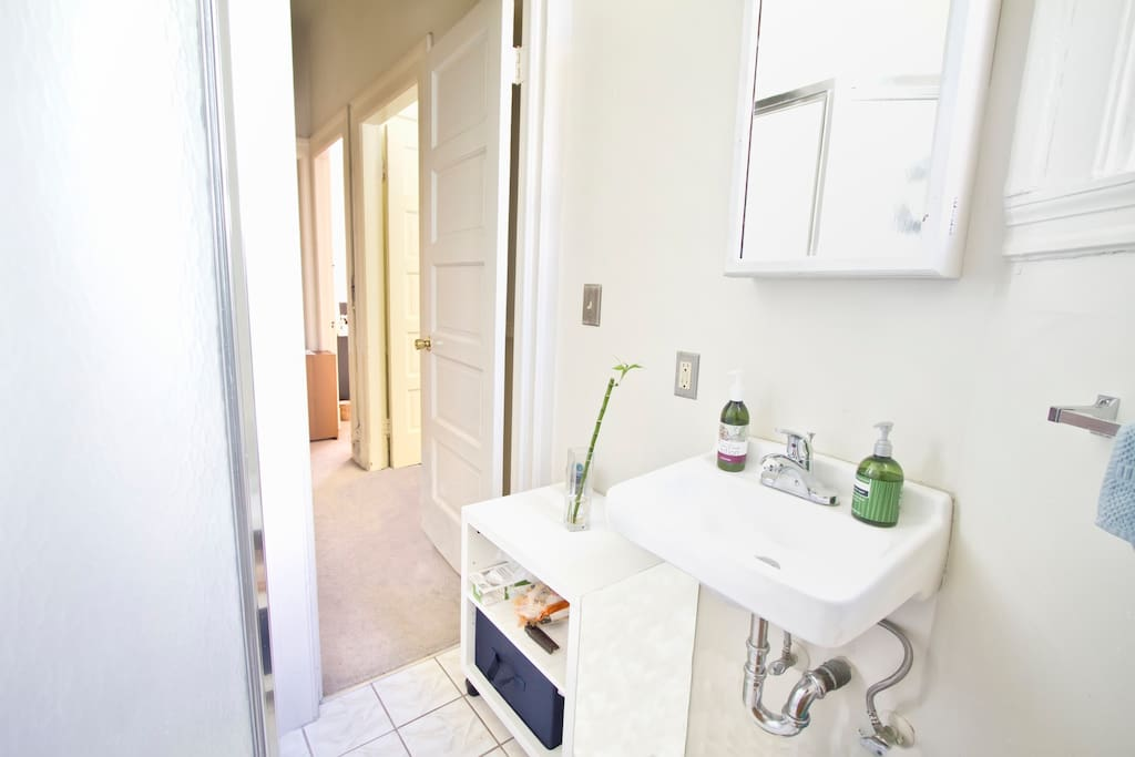 Your OWN private bathroom right next to your room