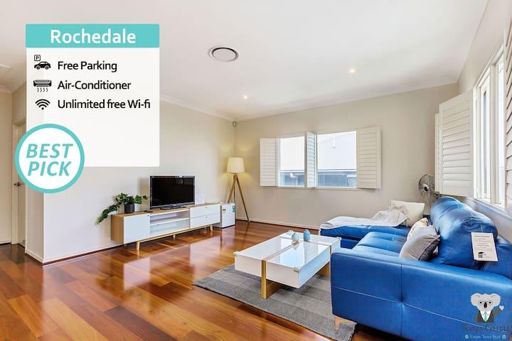 KOZYGURU | Rochedale | Spacious Dream Holiday House | 4 Bedroom 3 Bathroom