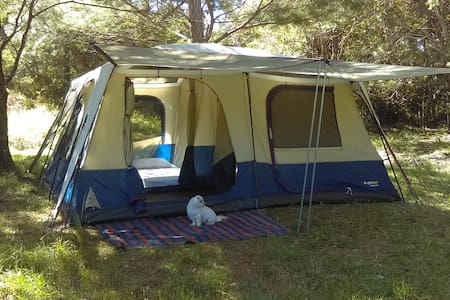 Cozy 3 bedroom Tent at Stoney Creek Eco Camping - Boolambayte - Namiot