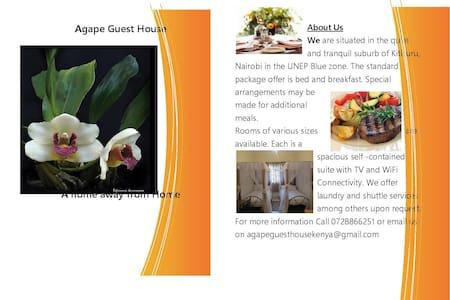 Spacious and Cosy accomodation  - Nairobi - Bed & Breakfast