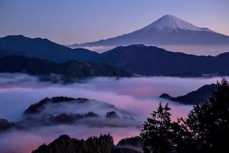 Whole house 5min Mt.Fuji - Fujiyoshida-shi