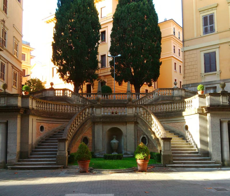 Rooms in apartment in parioli area flats for rent in for Airbnb roma
