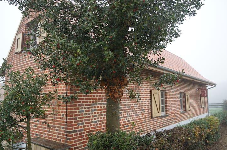 Ancienne ferme flamande restaurée