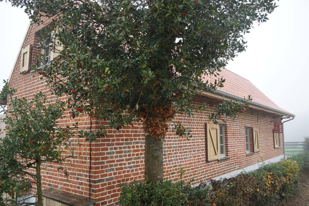 Ancienne ferme flamande restaur e huizen te huur in boeschepe nord pas de calais frankrijk - Stijl ligstoelen anciennes ...