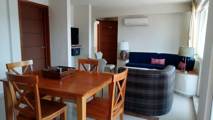 Contemporary Apartment in Best Downtown Location - Cancún - Apartemen
