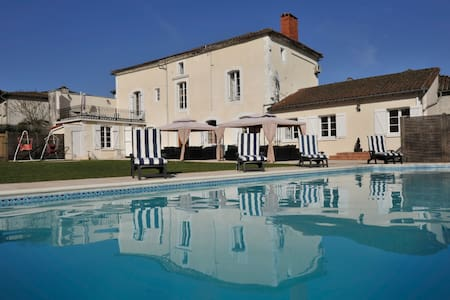 Le Sanctuaire - Luxury Villa - Saint-Saud Lacoussiere - Talo