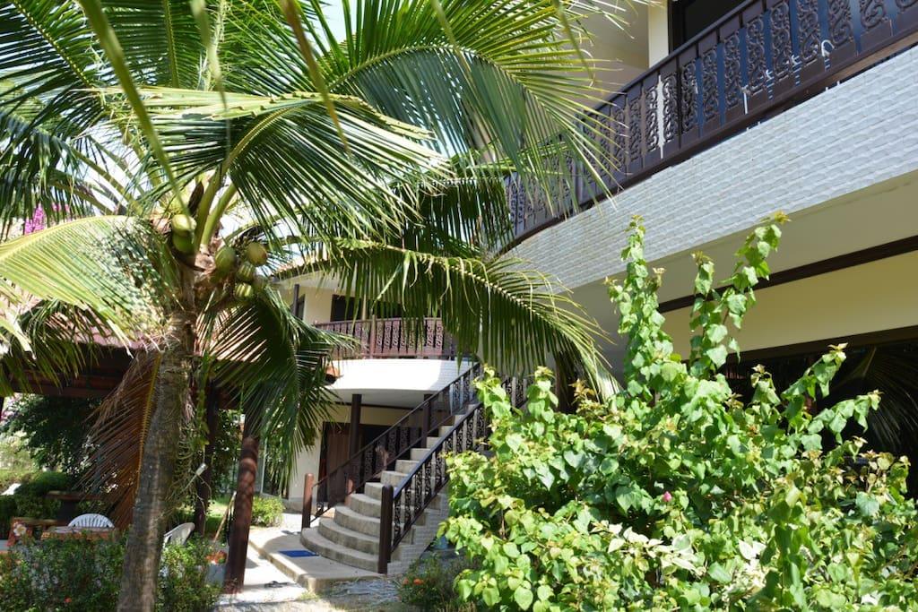 лестница к апартаменту №4