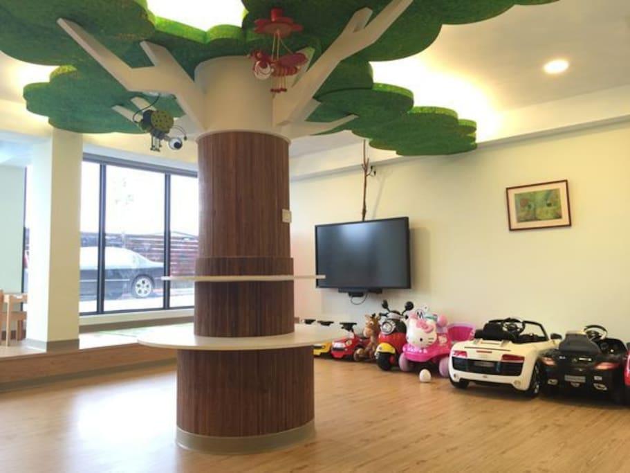 公共空間-兒童遊戲室