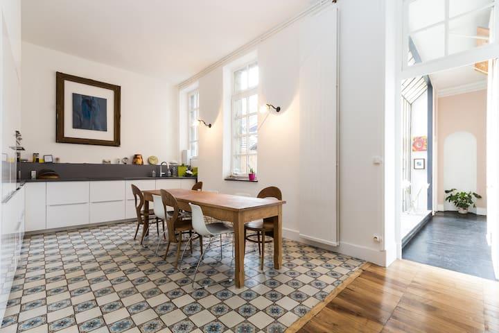 Superbe appartement avec terrasse - Grenoble - Leilighet