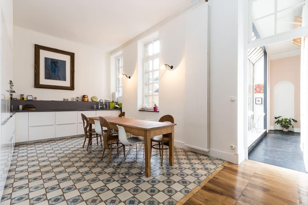 Superbe appartement avec terrasse appartements louer for Appartement meuble grenoble louer