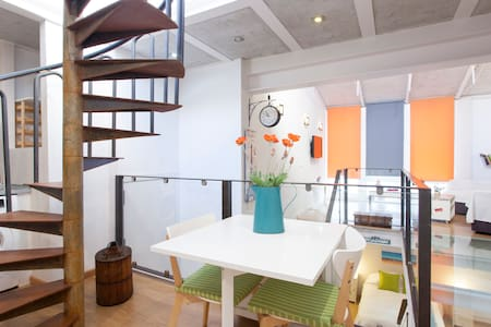 Glass floor loft in Mallorca / parking optional - Palma de Mallorca