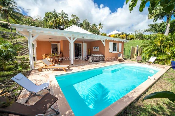 Villa créole avec piscine - Le Vauclin - Hus