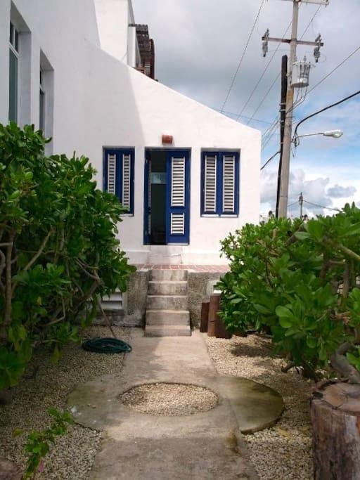 Entrance to Studio