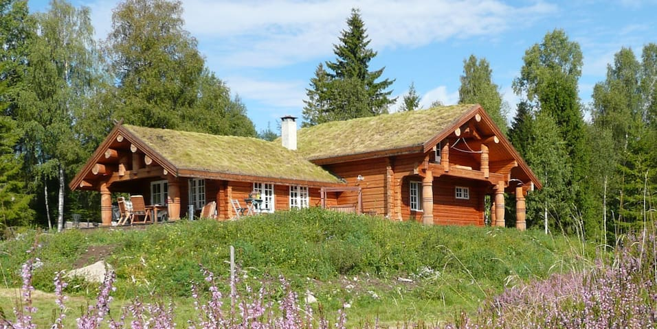 Eco log-home in natural setting - Kodal - Xalet