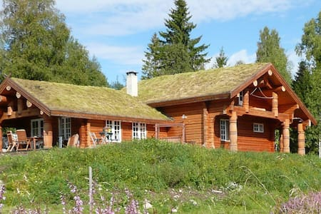 Eco log-home in natural setting - Kodal