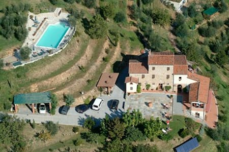 hotel with pool,Jacuzzi, great view - Buggiano - Penzion (B&B)