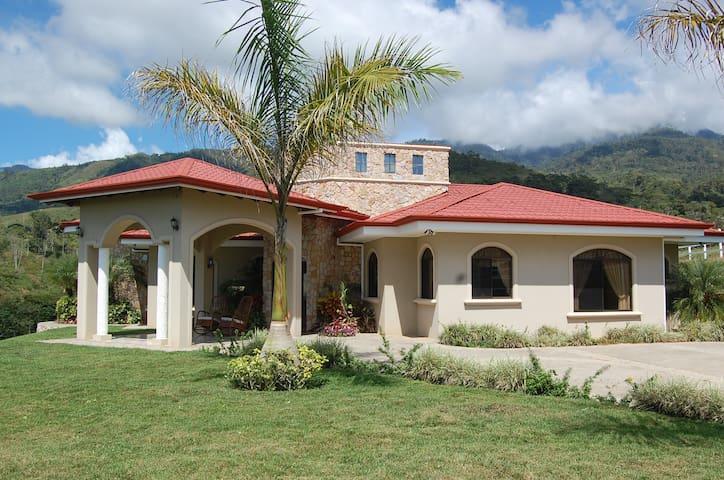 Casa de Montaña - Santiago Springs - San Isidro de El General - House