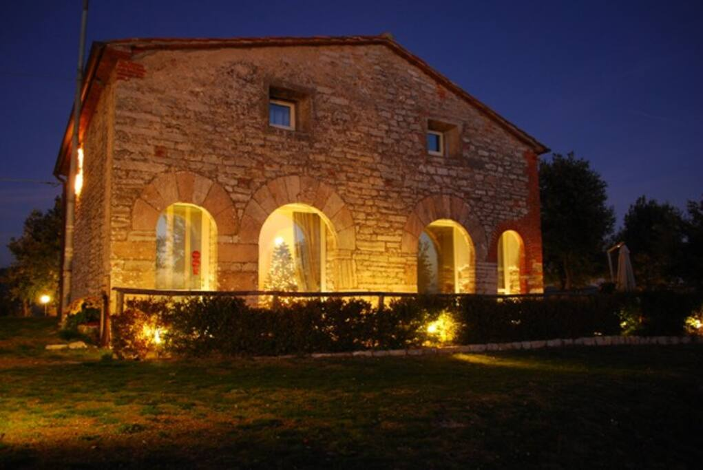 Vista esterna del Relais Villa San Bastiano
