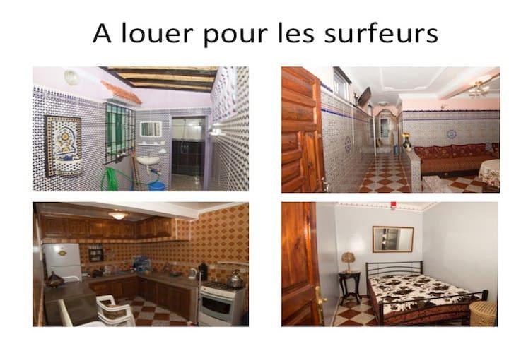 Strand Haus  Dar Bouazza Casablanca - Dar Bouazza - Huis