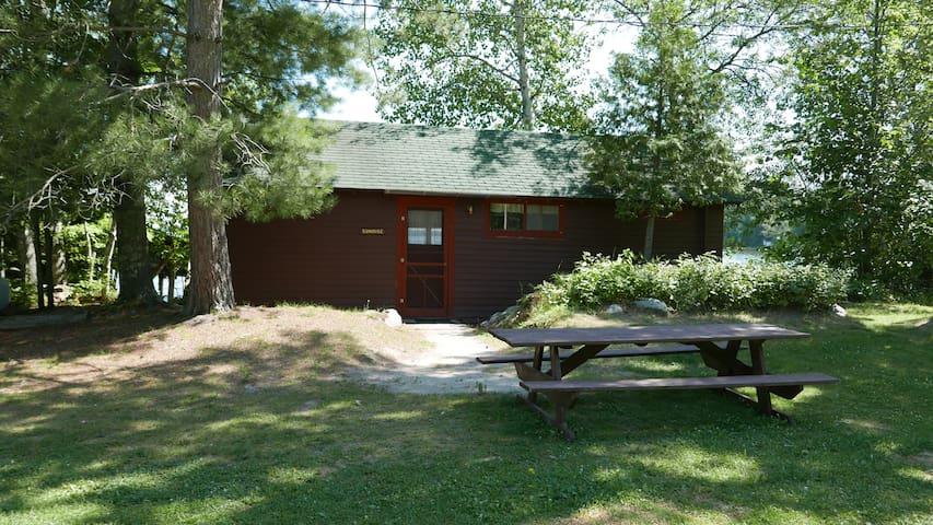 Sunrise Cabin - Grey Wolf Lodge - 2 bedroom
