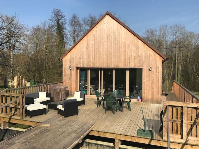 Maison atypique au cœur du Vexin - Santeuil - Talo