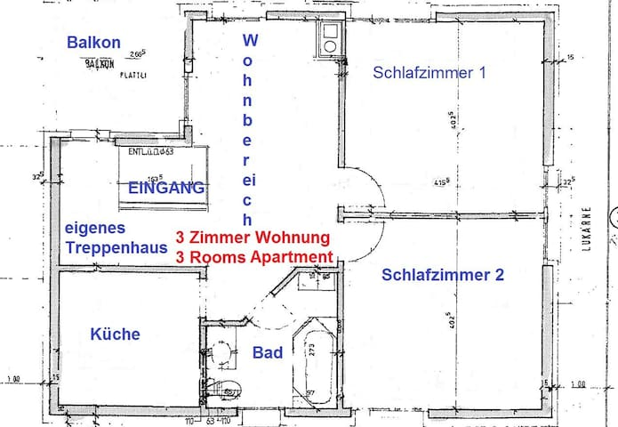 3rooms apart. 22min. to Zurich HB, good connection - Dietikon - Apartamento