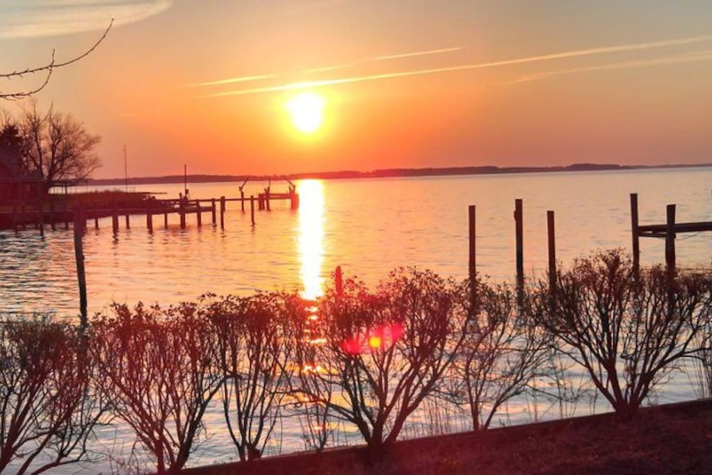 Sunrise over the Choptank River