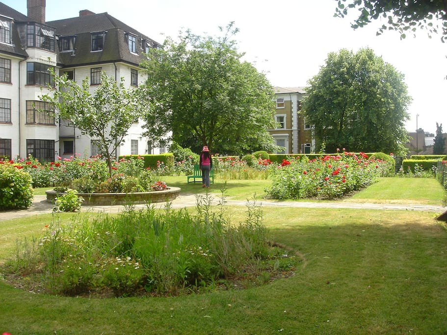 The Rose Gardens.