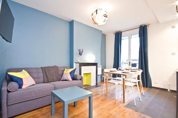 Cosy & Bright Apartment, Hip Canal Saint Martin