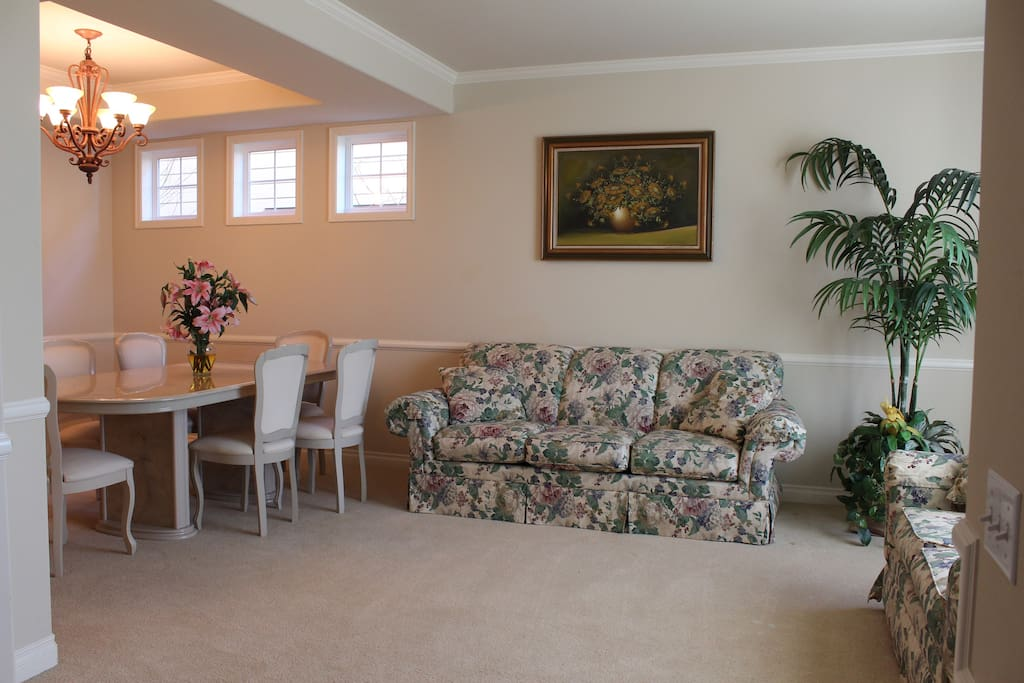 Formal Living and Dining Room