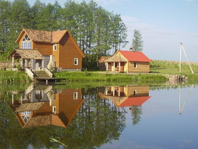 "Агроусадьба ""Тихие пруды"" - Grodno - Casa"