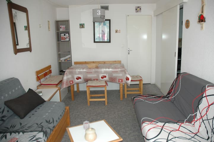 Résidence  Lunik Orion 28 m2, vue vallée 6e étage - Villarembert - Condominium