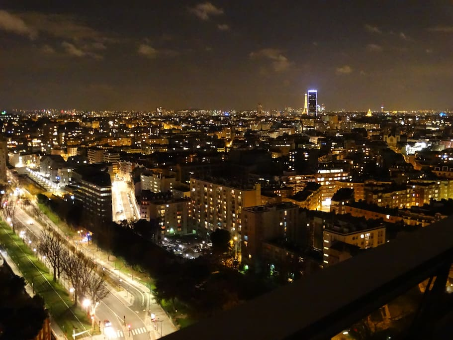 Vue de nuit. Nightview