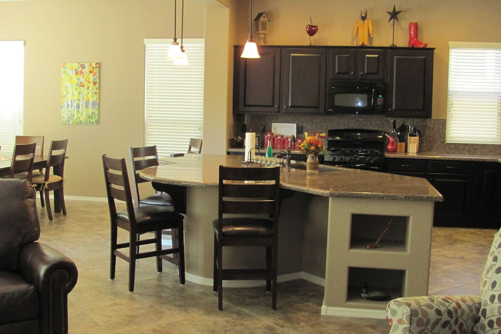Hosts will serve breakfast each day but entire living area is yours to enjoy!