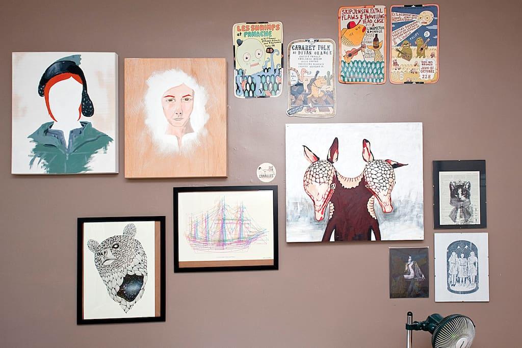 Montreal creativity / Artistes montréalais