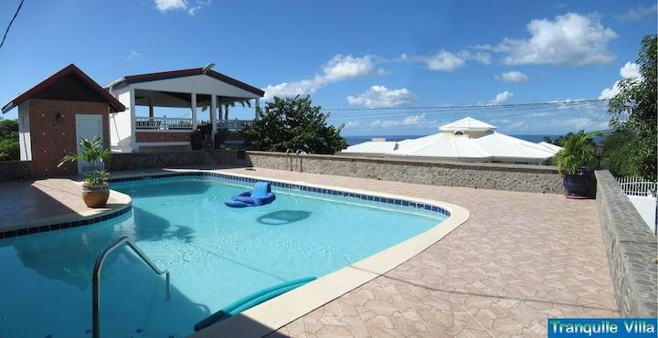 Tranquile Villa, Morne Daniel, SW Dominica