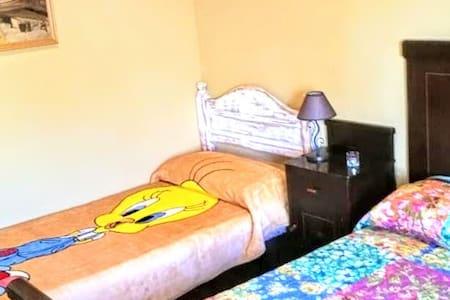CMT Anemone Big triple room with shared bathroom - Granadilla