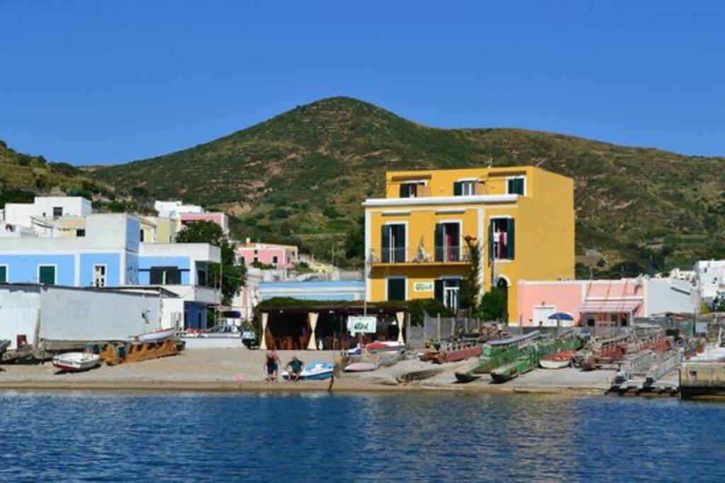 Santa Maria vista da mare
