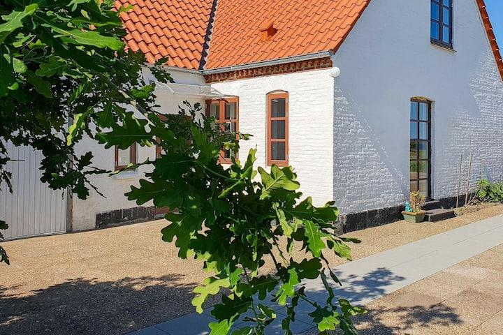 Maison de vacances vintage dans le Jutland avec terrasse