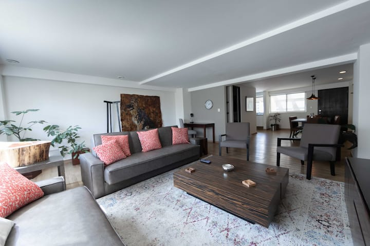 SANITIZED St. Cozy Apt 2BDR @Heart of Condesa